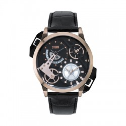 Reloj STORM DUALON LEATHER Oro rosado 47147/RGD