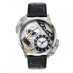Reloj STORM DUALON LEATHER Plata 47147/S