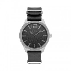Reloj STORM OXLEY LEATHER Negro BK