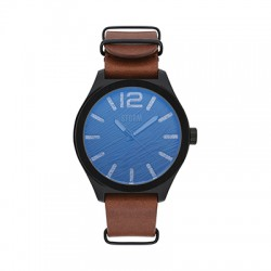 Reloj STORM OXLEY LEATHER Azul/Pavondado LB/SLT
